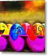 Ester Eggs - Pa Metal Print