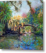 Estero River At Koreshan Metal Print