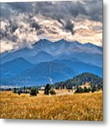 Estes Park From Glen Haven 3 Metal Print