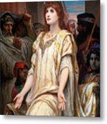 Esther Before Ahasuerus Metal Print
