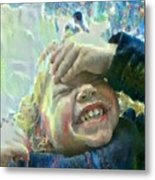 Esther, What Is So Funny? Metal Print