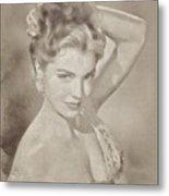 Esther Williams, Vintage Hollywood Actress Metal Print
