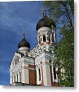 Estonia Church  Metal Print
