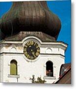Estonian Baroque Onion Dome Metal Print