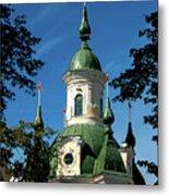 Estonian Church Orthodox And Baroque Metal Print