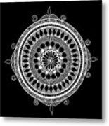 Estrella Mandala Metal Print
