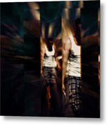 Ethereal Abstract Metal Print