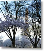 Ethereal Cherry Blossoms Metal Print