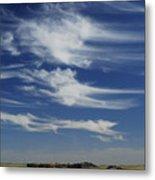 Ethereal Clouds Metal Print