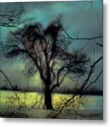Ethereal Trees Metal Print