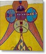 Ethiopian Ornament  Metal Print