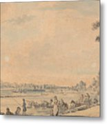 Eton College From The South Metal Print