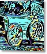 Ettore's Dream Cars Metal Print