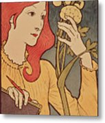 Eugene Grasset Metal Print