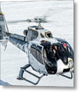 Eurocopter Ec130 With Fantastic Livery Metal Print
