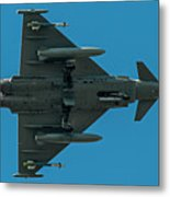 Eurofighter Typhoon 2000 Profile Metal Print