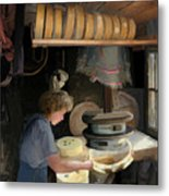 European Cheesemaker Metal Print