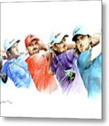 European Golf Champions Race 2017 Metal Print