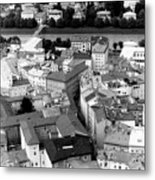 European Rooftops Metal Print
