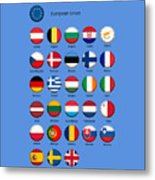 European Union Metal Print