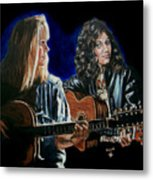 Eva Cassidy And Katie Melua Metal Print