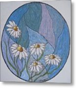 Even Daisies Get The Blues Metal Print