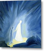 Even In The Darkness Of Out Sufferings Jesus Is Close To Us Metal Print by Elizabeth Wang