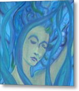 Even Mermaids Get The Blues Metal Print