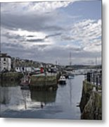 Evening At Custom House Quay - Falmouth Metal Print