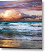 Evening At Kailua Beach Metal Print