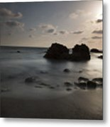 Evening At Sidna Ali Beach 1 Metal Print