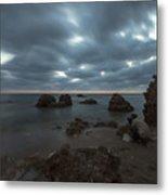 Evening At Sidna Ali Beach 4 Metal Print