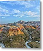 Evening At Yellow Mounds 2 Metal Print