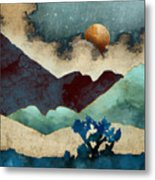 Evening Calm Metal Print