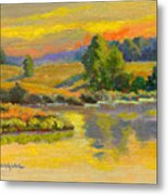 Evening Color Metal Print