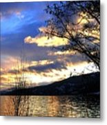 Evening Exhibition Metal Print