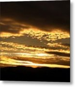 Evening Grandeur Metal Print