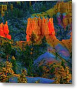 Evening In Bryce Canyon Metal Print
