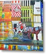 Evening In New York Metal Print