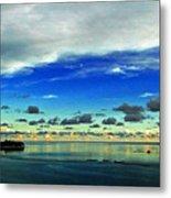 Evening In Paradise Panoramic Metal Print