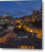 Evening In Siena Metal Print