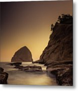 Evening In The Cove Metal Print