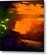 Evening Lake Metal Print