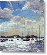 Evening Light - Gulf Of Morbihan Metal Print