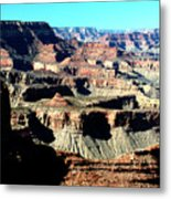 Evening Light Over The Grand Canyon Metal Print