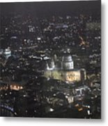 Evening London Metal Print