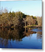 Evening On The Speed River Metal Print