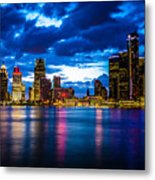 Evening On The Town Metal Print