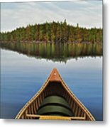 Evening Paddle  Metal Print
