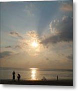 Evening Softness Metal Print
